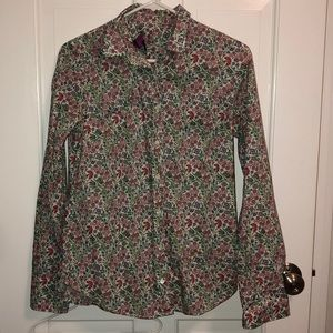 J.Crew Liberty of London blouse - size 4 - EUC